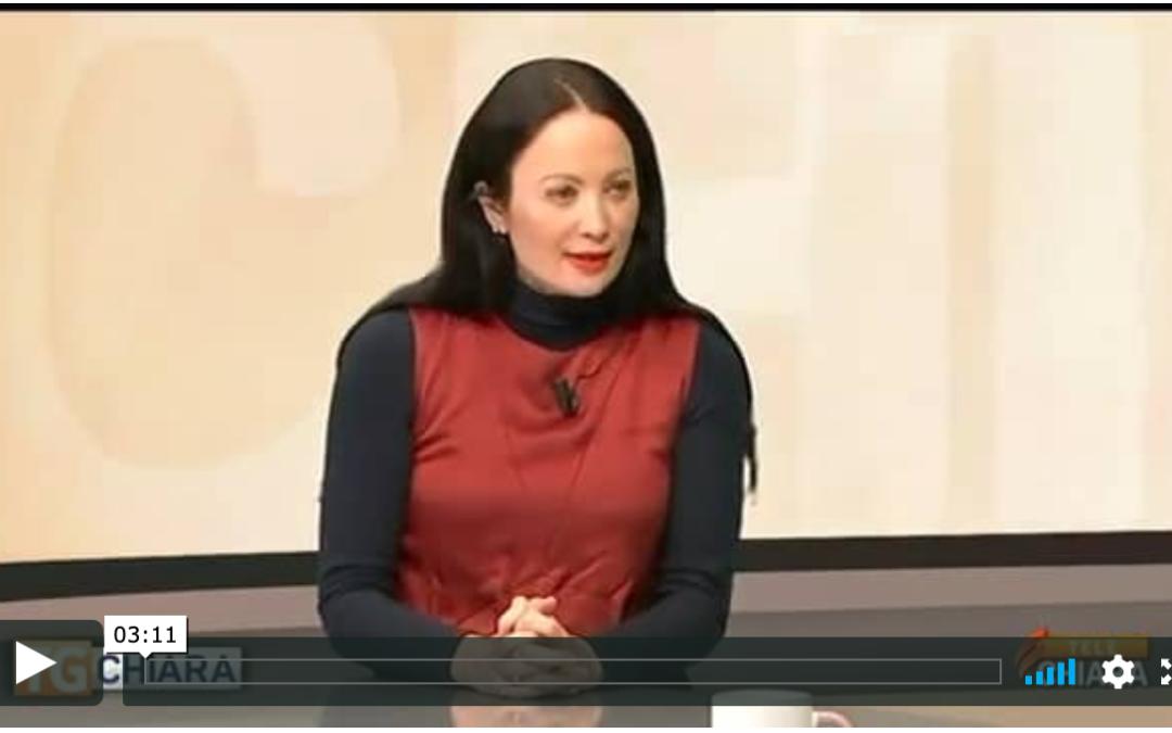 Intervista di TeleChiara alla Presidente Martina Semenzato